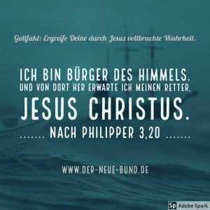 ich bin durch jesus christus buerger des himmels geworden