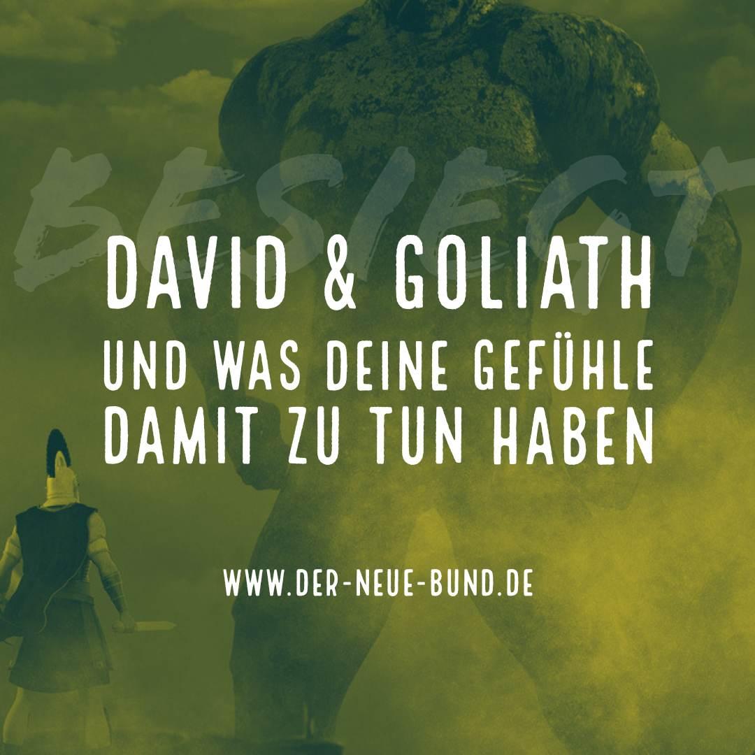 david und goliath neuer bund