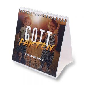 Gottfakten Kalender Aufsteller
