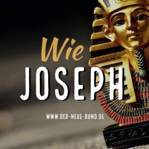 Wie Josef bist du gesetzt ueber alles